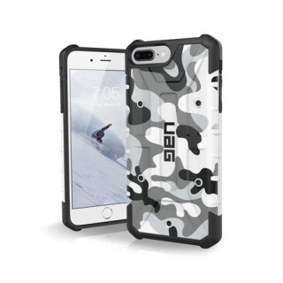 Coque Renforcée Apple iPhone 7 Plus/8 Plus/6s Plus/6 Plus UAG Pathfinder White Camo