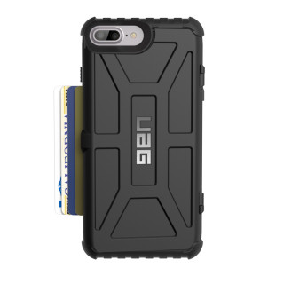 Coque Renforcée CC Apple iPhone 6 Plus/6s Plus/7 Plus/8 Plus UAG Trooper Noir