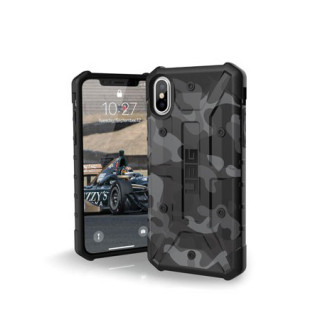 Coque Renforcée Apple iPhone XS/X UAG Pathfinder Black Camo