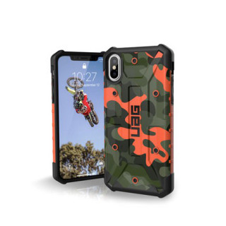 Coque Renforcée Apple iPhone XS/X UAG Pathfinder Rust Camo