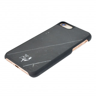 Coque Marbre iPhone 7/8 VeryBadCoque Noir