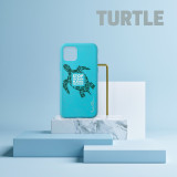 Coque Apple iPhone 11 Wilma Stop Ocean Plastic Pollution Turtle