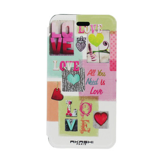 "Etui Folio Apple iPhone 6/6s Akashi ""Love"""