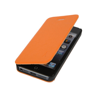 Etui Folio Apple iPhone 5/5S/SE Akashi Orange