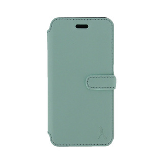 Etui Cuir Folio Apple iPhone 6/6s Akashi Bleu Vintage