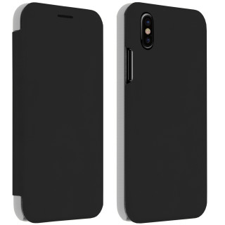Etui Folio Inclinable Apple iPhone X Akashi Noir