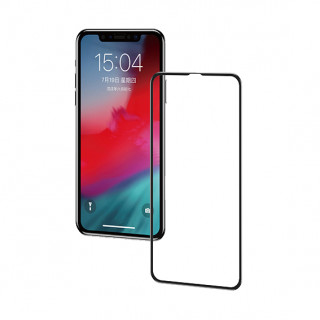 2 Vitres Protection Ecran iPhone 11 Pro Max/iPhone XS Max Curve Baseus