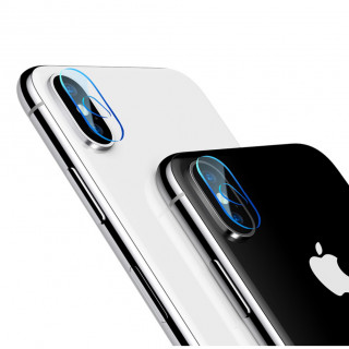 Films Protection Appareil Photo Arrière iPhone X Baseus