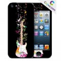 "Sticker iPhone 5/5S personnalisation Coovz ""Funky Music"""
