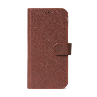Etui Apple iPhone 12 Pro Max (MagSafe) Decoded Folio Détachable Cuir Marron