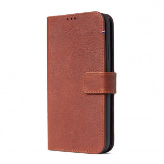 Etui Apple iPhone 11 Decoded Folio Détachable Cuir Marron
