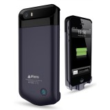 Coque batterie iPhone 5/5S Ultra Fine Noire iFans