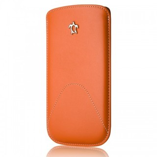 "Etui Fourreau Samsung Galaxy S5 Issentiel ""Classic"" Cuir Orange"