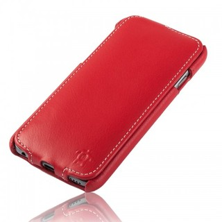 Etui Cuir Apple iPhone 6 Plus/6s Plus Issentiel Prestige Ultra Mince Rouge