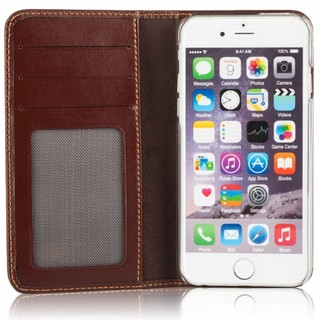 Etui Cuir Apple iPhone 6 Plus/6s Plus Issentiel Exclusive Chocolat