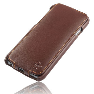 Etui Cuir Apple iPhone 7/8 Issentiel Prestige Ultra Mince Chocolat