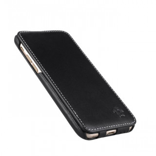 Etui Cuir Apple iPhone 7/8 Issentiel Premium Noir Ebène