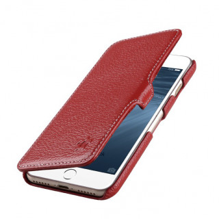 Etui Cuir Apple iPhone 7/8 Issentiel Premium Portfolio Rouge Grainé