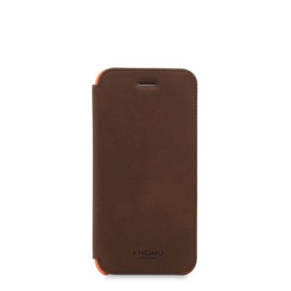Etui Folio Cuir iPhone 7/8 Knomo Marron