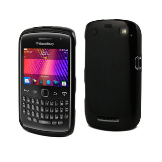 Housse minigel BlackBerry Curve 9360 / 9370 Muvit Noir