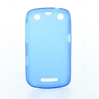 Coque Gel Blackberry 9360 Bleue