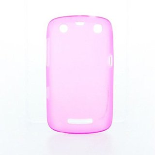 Coque Gel Blackberry 9360 Rose