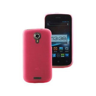 Coque Gel Wiko Cink Five Rose