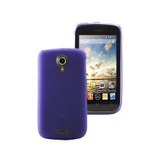 Coque Gel Wiko Cink Five Violette