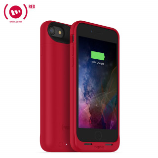 Coque Batterie Apple iPhone 7 Juice Pack Air Mophie Rouge