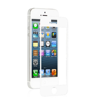Protection Ecran Mate Apple iPhone 5/5S/SE anti-reflet iVisor AG Moshi Blanche