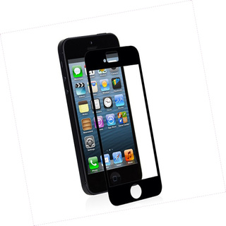 Protection Ecran Transparente Apple iPhone 5/5S/SE iVisor XT Moshi Noire