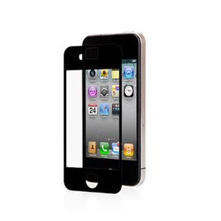 Protection Ecran Mate anti-reflet iPhone 4 / 4S iVisor AG Moshi Noire