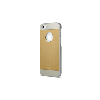 Coque iPhone 5/5S/SE iGlaze Armour Aluminium Or Moshi