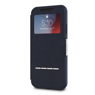 Etui iPhone XR SenseCover Moshi Midnight Blue