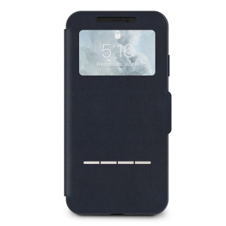 Etui iPhone XS Max SenseCover Moshi Midnight Blue