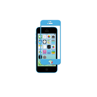 Protection Ecran iPhone 5/5S/SE/5C iVisor Glass Bleu Moshi
