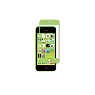 Protection Ecran iPhone 5/5S/SE/5C iVisor Glass Vert Moshi