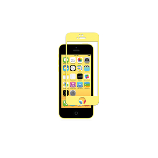 Protection Ecran iPhone 5/5S/SE/5C iVisor Glass Jaune Moshi
