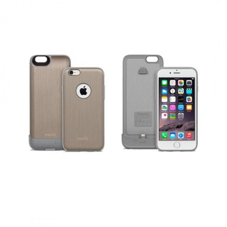 Coque Batterie iPhone 6/6s Moshi iGlaze Ion Titanium