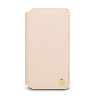 Etui Portefeuille iPhone XR Overture Moshi Beige