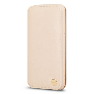 Etui Portefeuille iPhone XS Max Overture Moshi Beige