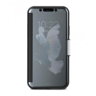 Etui iPhone XS/X StealthCover Moshi Gris