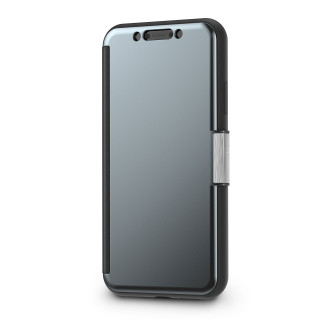 Etui iPhone XR StealthCover Moshi Gris Anthracite