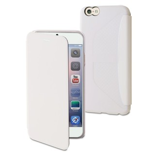 Etui Easy Folio Apple iPhone 6 Plus/6s Plus Muvit Blanc