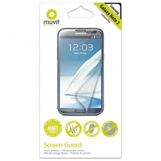 Protection d'écran Samsung Galaxy Note 2 Muvit Mate