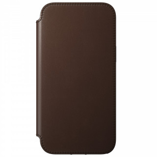 Etui Cuir Apple iPhone 12 Pro Max Nomad (MagSafe) Rugged Folio Brown