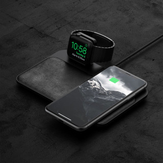 Chargeur Induction Smartphone & Apple Watch Noir Nomad