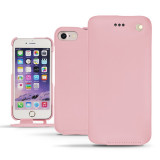 Housse Cuir iPhone 7 Noreve Tradition Rose