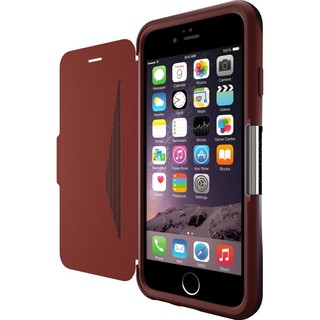 Etui Cuir Portefeuille iPhone 6/6s Otterbox Strada Bordeaux