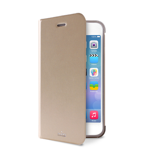 Etui Folio Apple iPhone 6/6s Puro Booklet Gold